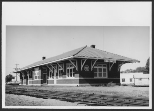 Missouri Pacific Railroad depot, Stafford, Kansas - Page