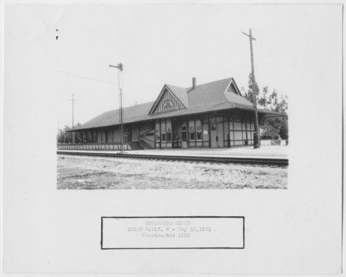 Atchison, Topeka & Santa Fe Railway depot, Rancho Cucamonga, California - Page