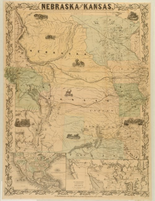 Nebraska and Kansas - Page