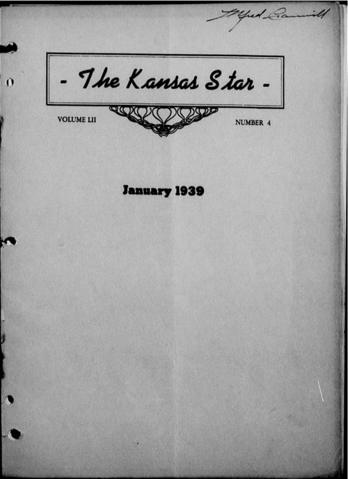 The Kansas Star, volume 52, number 4 - Page
