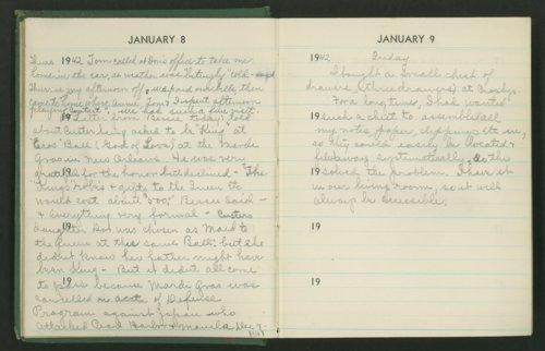 Claire Eva Paine diary - Page