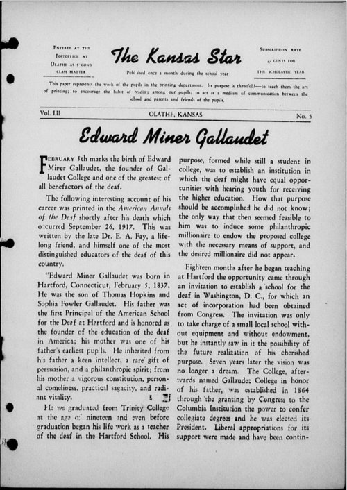 The Kansas Star, volume 52, number 5 - Page