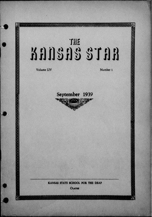 The Kansas Star, volume 54, number 1 - Page