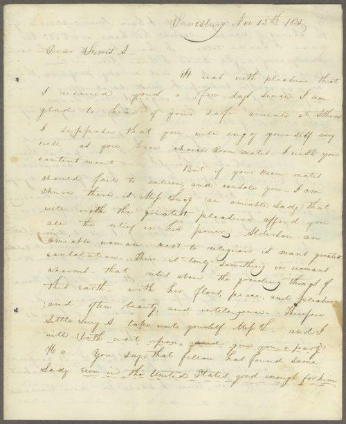 Charles Arbuckle to Lewis Allen Alderson - Page