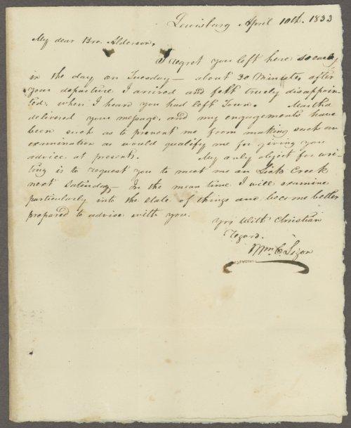 William C. Sigon to Lewis Allen Alderson - Page