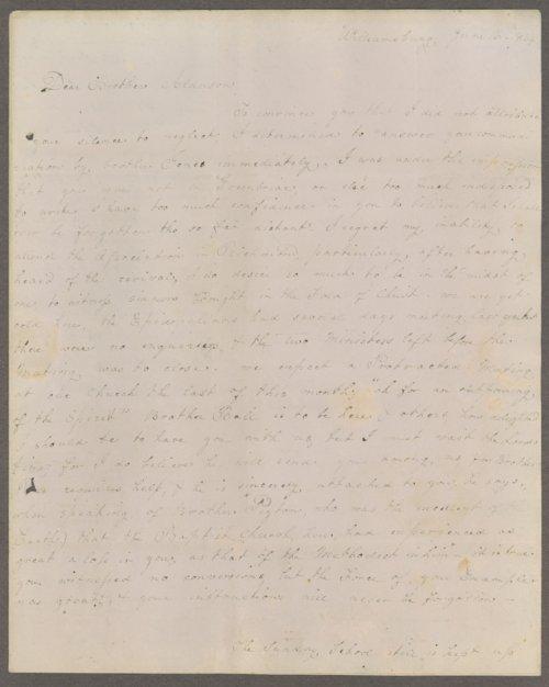 Louisa E. White to Lewis Allen Alderson - Page