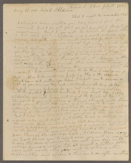 John M. Howe to Lewis Allen Alderson - Page
