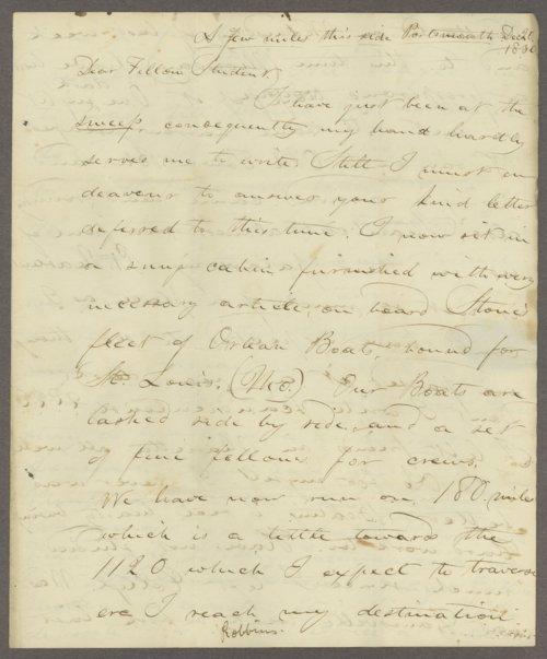 Samuel P. Robbins to Lewis Allen Alderson - Page