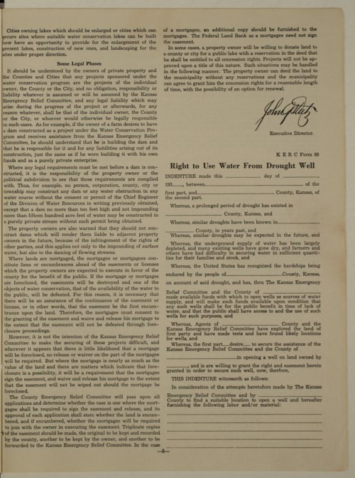 Kansas Emergency Relief Committee, bulletin 72 - Page