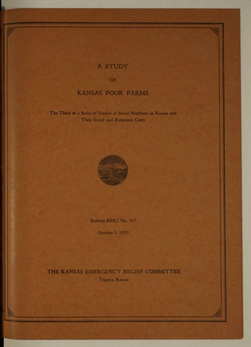 Kansas Emergency Relief Committee, bulletin 307 - Page