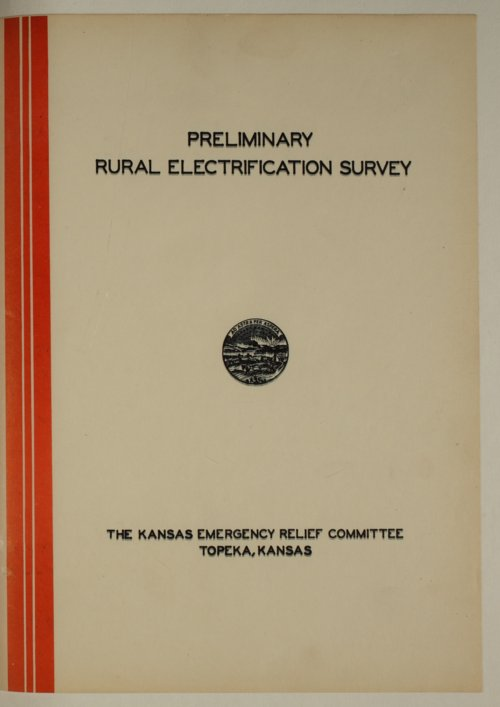 Preliminary rural electrification survey - Page