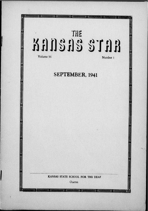 The Kansas Star, volume 56, number 1 - Page