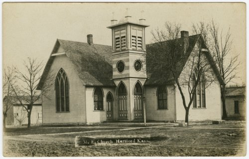 Methodist Episcopal Church in Hartford, Kansas - Page