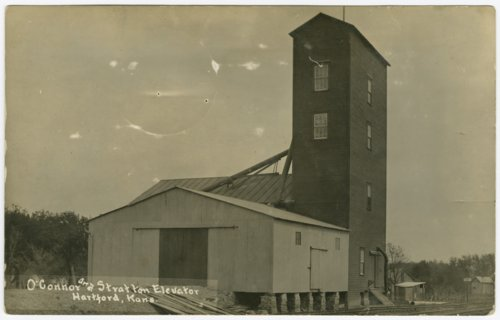 O'Connor and Stratton elevator in Hartford, Kansas - Page