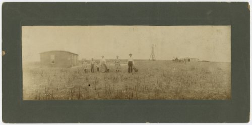 Charley Davis' family and home possibly in Haskell County, Kansas - Page