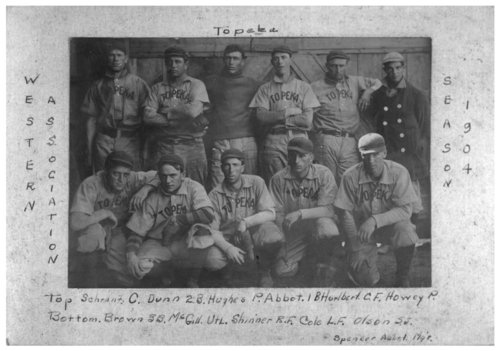 Baseball team in Topeka, Kansas - Page