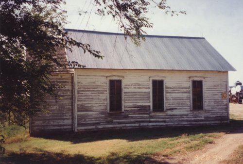 Schoolhouse in Hodgeman County, Kansas - Page