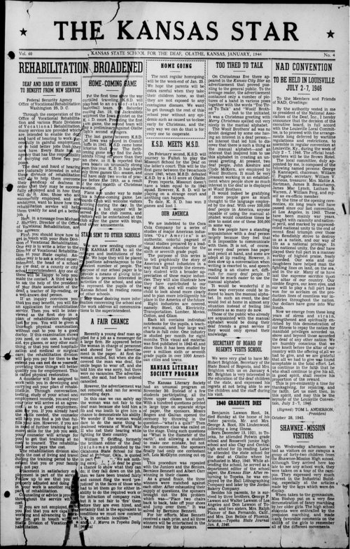 The Kansas Star, volume 60, number 4 - Page