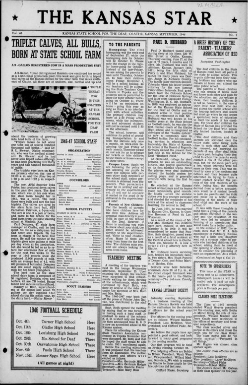 The Kansas Star, volume 61, number 1 - Page