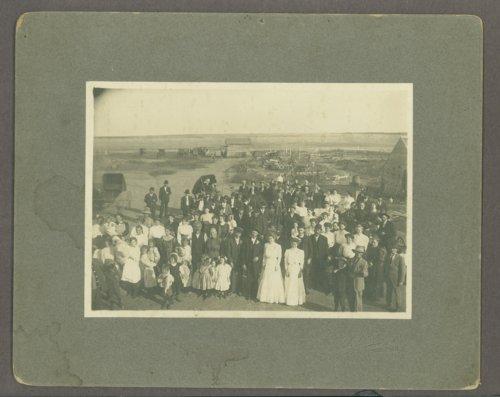 McGaughey wedding group near McCracken, Kansas - Page