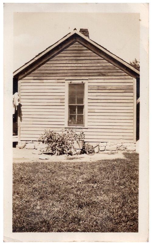 Andrew Gayden farm house near Dunlap, Kansas - Page