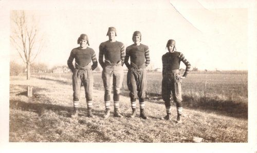 Dunlap High School football team in Dunlap, Kansas - Page