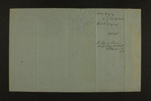James Barnes Whitaker correspondence
