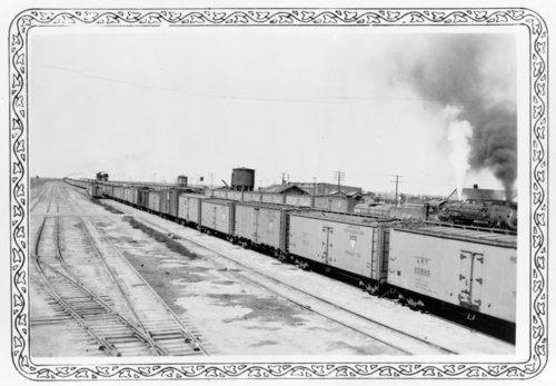 Missouri Pacific Railroad yard, Horace, Kansas - Page