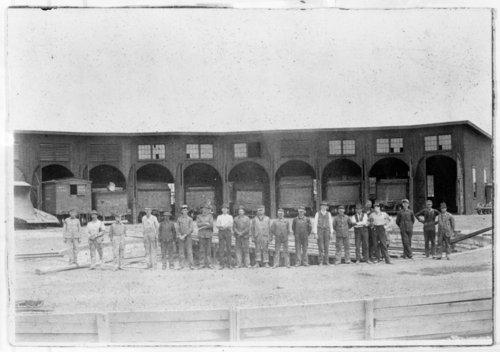 Missouri Pacific Railroad roundhouses, Horace, Kansas - Page