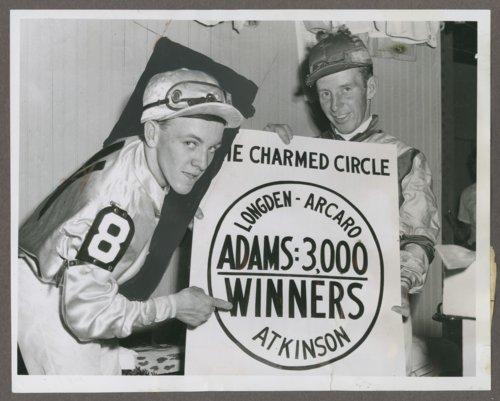 Johnny Adams, Hall of Fame jockey from Iola, Kansas - Page