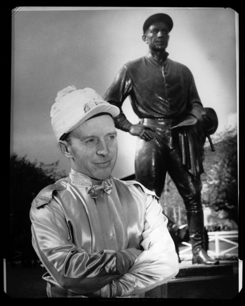 Johnny Adams, Hall of Fame jockey from Iola, Kansas - Page