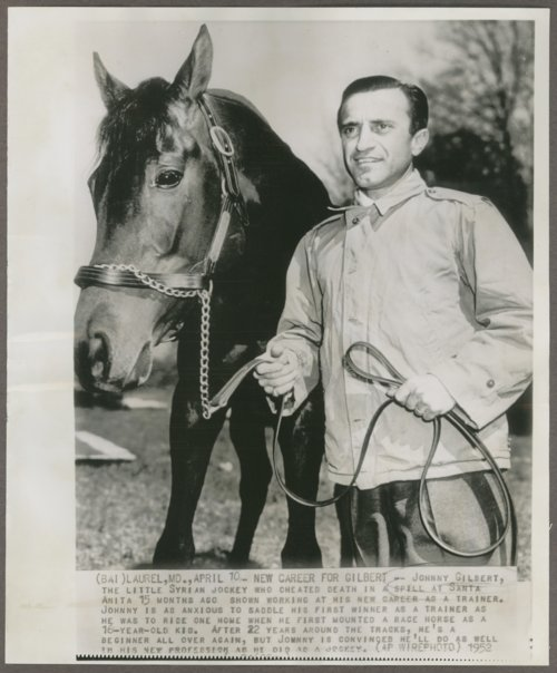 Johnny Gilbert, jockey and trainer from Pittsburg, Kansas - Page