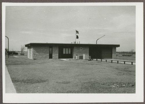 Visitor center at Fort Hays, Kansas - Page