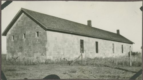 Views of the guardhouse at Fort Hays, Kansas - Page