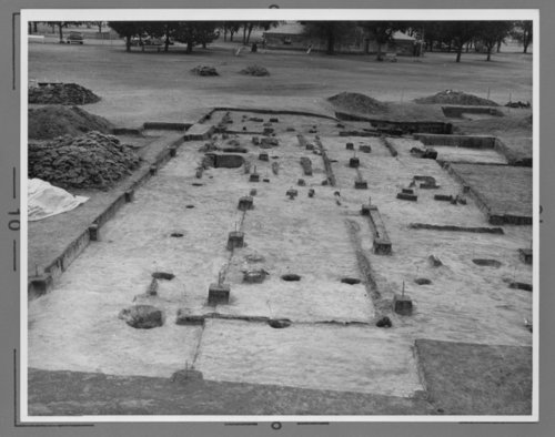 Archeological dig at Fort Hays, Kansas - Page
