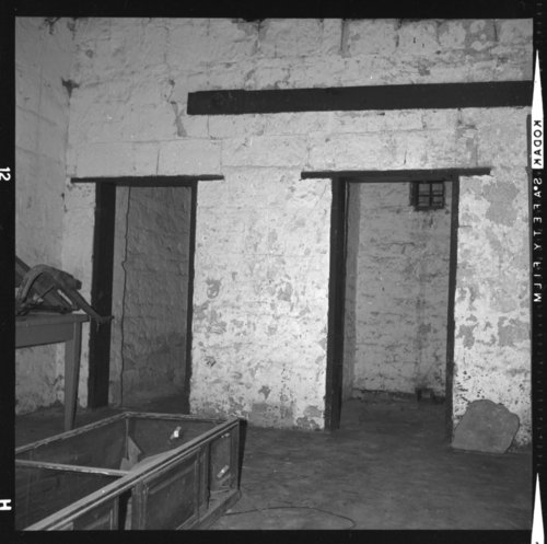 Interior views of the guardhouse at Fort Hays, Kansas - Page
