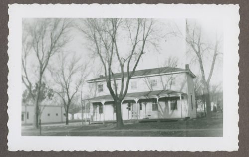 Officer's quarters at Fort Hays, Kansas - Page