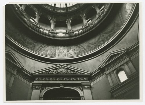 Murals in the rotunda of the Kansas capitol in Topeka, Kansas - Page