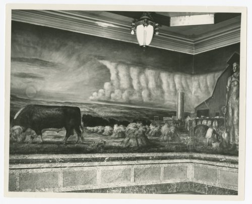 Murals at the Kansas capitol in Topeka, Kansas - Page