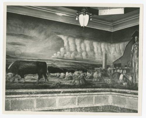 Murals at the Kansas capitol in Topeka, Kansas - Page