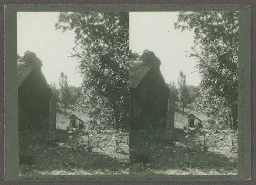 Charles Hadsall house at the Marais des Cygnes Massacre State Historic Site, Linn County, Kansas - Page