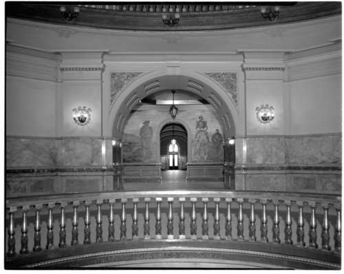 Rotunda at the Kansas capitol in Topeka, Kansas - Page
