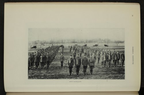Boys' battalion at Haskell Institute in Lawrence, Kansas - Page
