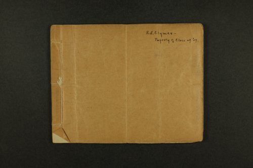Rolla Clymer correspondence - Page