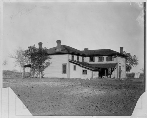 Commanding officer's quarters at Fort Hays, Kansas - Page
