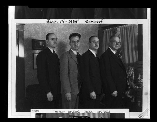 William Claire Menninger, Edwin Arnold Menninger, Karl Augustus Menninger and Charles Fredrick Menninger - Page