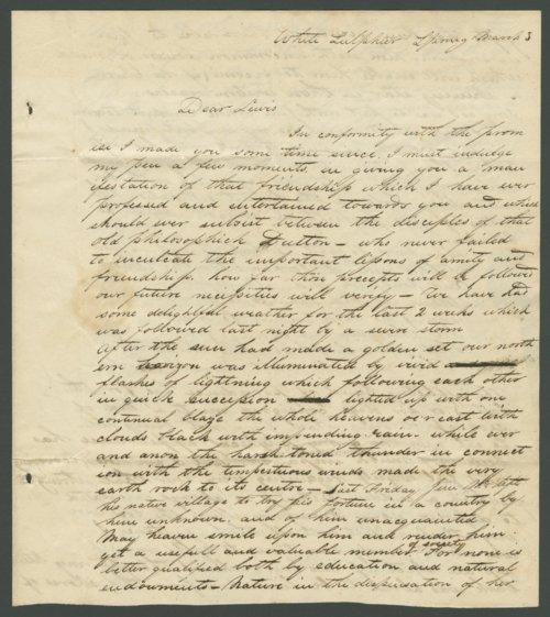 John H. Linn to Lewis Allen Alderson - Page