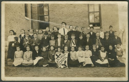 Grade school children at Oakdale School in Salina, Kansas - Page