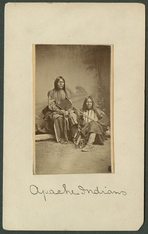 Two Apache men in Indian Territory - Page