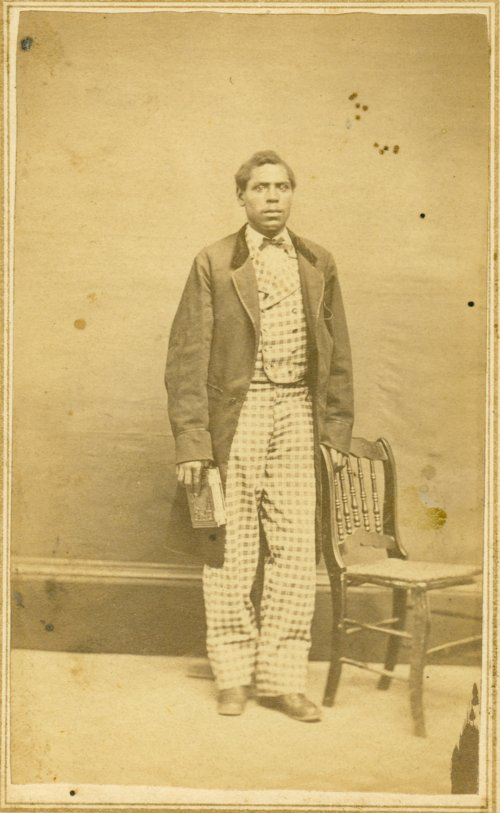 Unidentified African-American man - Page